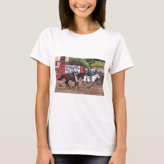 Cowgirl Cartoon T-Shirt