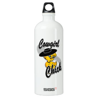 Cowgirl Chick #4 Water Bottle
