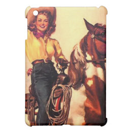 Cowgirl Cover For The iPad Mini