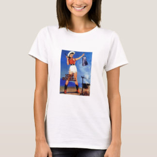 cowgirl cowbell T-Shirt