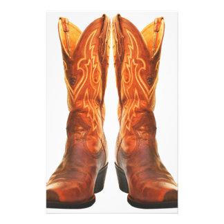 Cowgirl & Cowboy Western Boots Stationery
