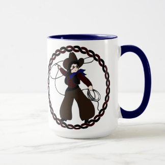 Cowgirl Design Mugs