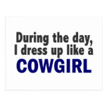 Cowgirl During The Day Post Cards