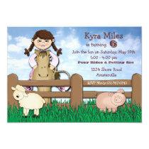 Cowgirl Farm Invitation