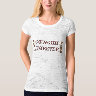 Cowgirl Forever Burnout Tee