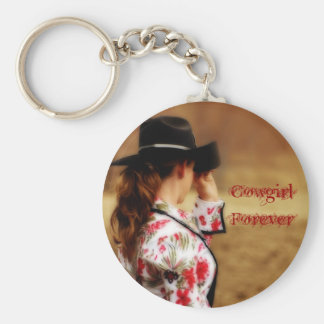 Cowgirl Forever Keychain