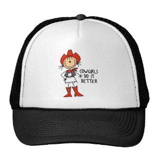 Cowgirl Gift Trucker Hats