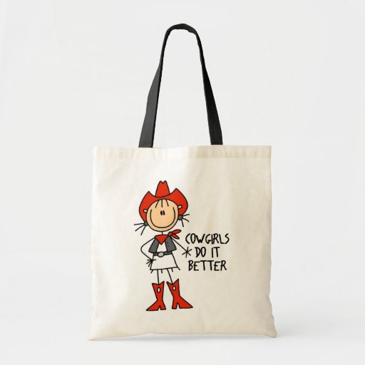 Cowgirl Gift Tote Bags