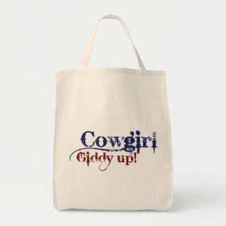 Cowgirl Gitty Up Tote Bag