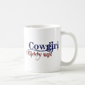 Cowgirl Gitty Up Coffee Mug