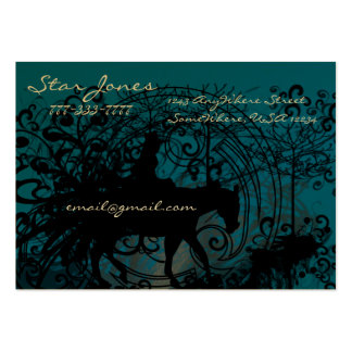 Cowgirl Grunge Large Business Card