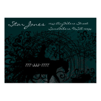 Cowgirl Grunge - Large Business Card