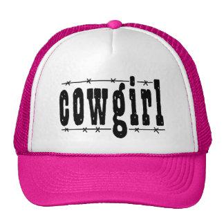 Cowgirl Trucker Hat