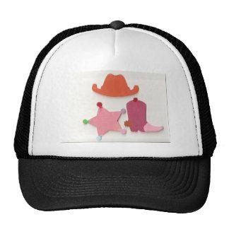 cowgirl mesh hats