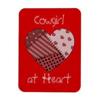Cowgirl Heart Premium Flexi Magnet