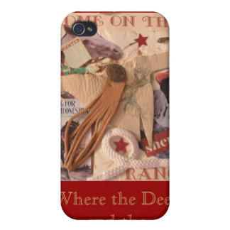 Cowgirl, Home on the Range Covers For iPhone 4