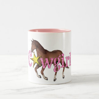 Cowgirl-Horse Mug