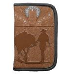 """Cowgirl & Horse"" Western Folio Day Planner"