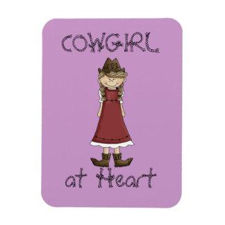 Cowgirl in Dress Premium Flexi Magnet