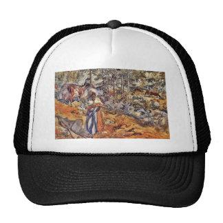 Cowgirl in the Meadow Trucker Hat