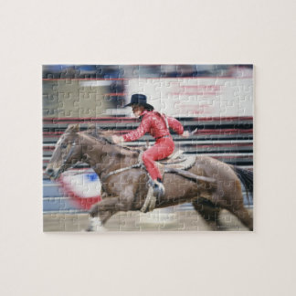 Cowgirl in the Rodeo Puzzle