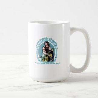 Cowgirl In Your Heart BabyBlue Design Mug