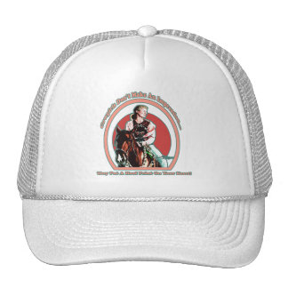 CowGirl In Your Heart  Hat  MLB