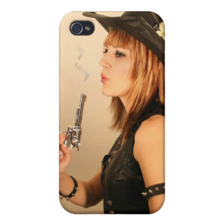 Cowgirl Cover For iPhone 4
