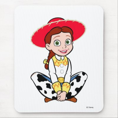 Cowgirl Jesse Disney mousepads