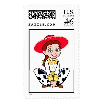 Cowgirl Jesse Disney postage