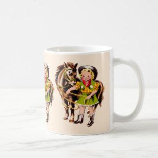 Cowgirl Kid Coffee Mug