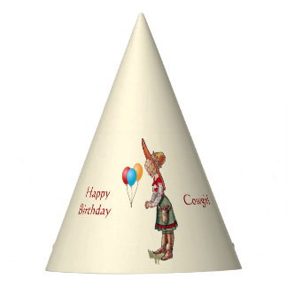 Cowgirl Kid Party Party Hat