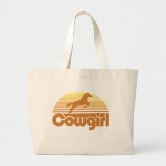 Cowgirl Large Tote Bag