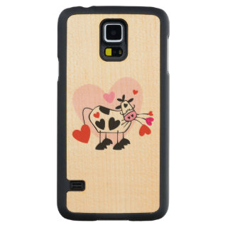 Cowgirl Love Carved Maple Galaxy S5 Slim Case