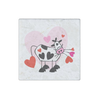 Cowgirl Love Stone Magnet