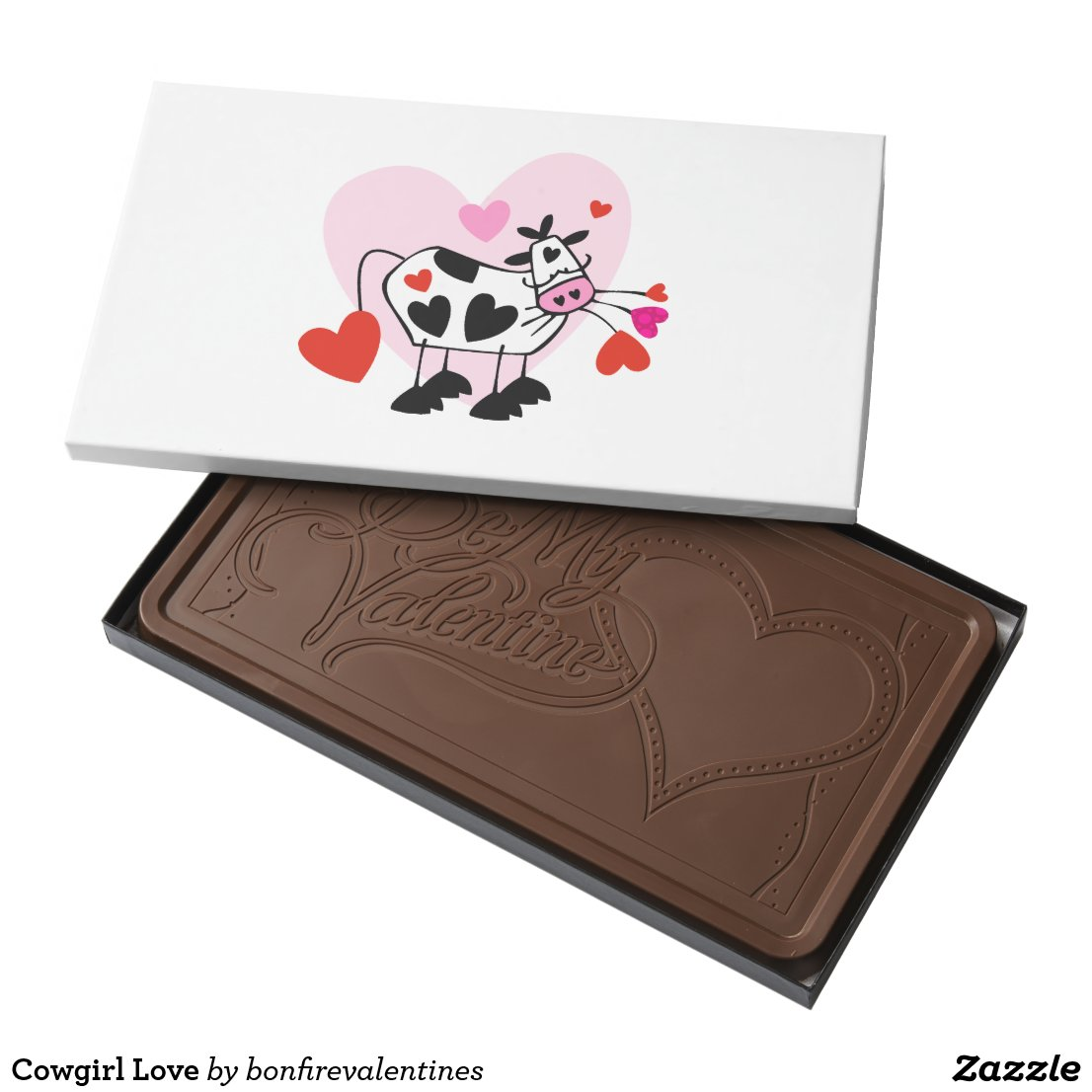 Cowgirl Love Milk Chocolate Bar
