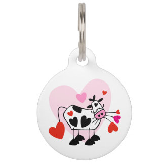 Cowgirl Love Pet Name Tag