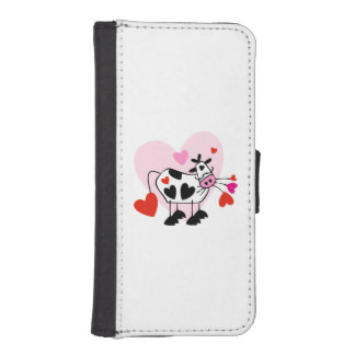 Cowgirl Love Wallet Phone Case For iPhone SE/5/5s
