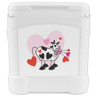 Cowgirl Lovers Igloo Rolling Cooler