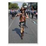 Cowgirl Majorette Greeting Card