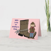 Cowgirl Mother's Day - Western Card
