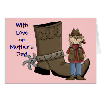 Cowgirl Mother's Day - Western Greeting Cards