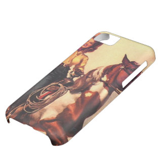 Cowgirl on Her Horse iPhone 5C Case