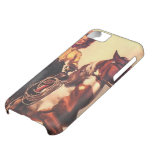 Cowgirl on Her Horse iPhone 5C Cases