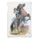 Cowgirl on Horse iPad Mini Case