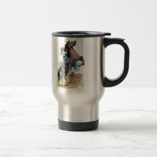 Cowgirl on Horse Mug