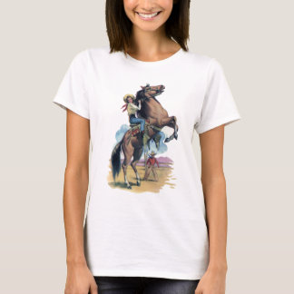 Cowgirl on Horse T-Shirt