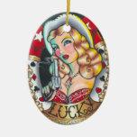 Cowgirl Ornament