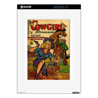 Cowgirl out on the Range iPad Skins