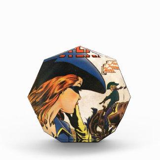 Cowgirl Outlaw Acrylic Award